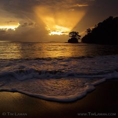 Photo by @TimLaman. Sunset over Coiba National Park Panama. I returned to Panama to continue my project documenting the marine biodiversity of Coiba. Amazing sunset over the park viewed from Pixvae village on one of my first days back. Coiba Island Latin Americas largest uninhabited island (some 500 square kilometers) off the Pacific coast of Panama is a truly unique place with lots of endemic species of animals and plants. Having been a penal colony for almost 100 years until 10 years ago…