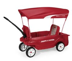 Our Radio Flyer Ultimate Comfort Wagon is the most versatile and comfortable wagon yet. The Radio Flyer Ultimate Comfort Wagon has flip and fold seats, removable padded seat pads, removable UV protection canopy, cup holders and non-tip turning. Toddler Toys, Kids Toys, Baby Toys, Babyshower, Best Outdoor Toys, Outdoor Fun, Folding Wagon, Kids Wagon, Radio Flyer Wagons