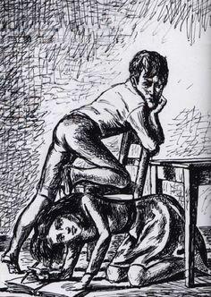Balthus. Les hauts de hurlevent, 1981.