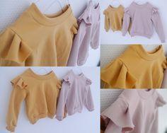 Olines mor: sweatshirts med flæse