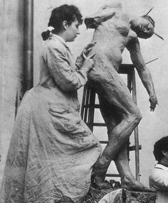 Camille Claudel and Jessy Lipscomb ,1896.