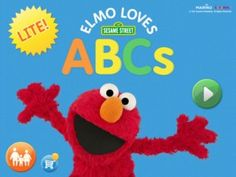Ipad Application Recommendation: Elmo Loves ABC's