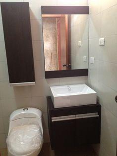Para agregar espacio para guardar en banos pequenos - Muebles cuartos de bano ...