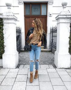 """0bc40df389d        Jacket and jeans from  zara Sweater from  reiss Bag from  chanel  Boots from  massimodutti Belt…"""""""