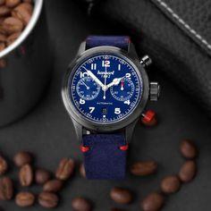Hanhart - #FliegerFriday Edition   Time and Watches   The watch blog Alain Silberstein, Romain Jerome, Favre Leuba, Apple Watch 1, Watch Blog, Richard Mille, Hand Watch, Red Accents, High Jewelry