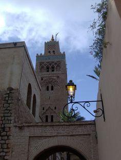 Koutoubia lamp in Marrakech