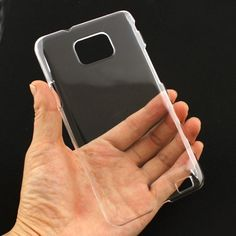 Transparent Case For DIY Customizing Your Samsung Galaxy S2 i9100 - Samsung Accessories