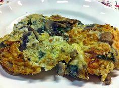 Frittata de Cogumelos com Espinafre e Queijo Minas e um apelo!