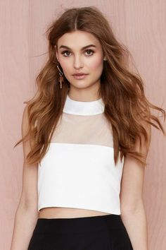 Solace London Lowry Crop Top