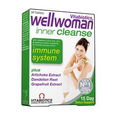 Vitabiotics Wellwoman Inner Cleanse 30 Tablets