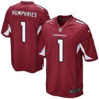 NFL Arizona Cardinals #1 D.J. Humphries Game Jersey