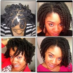 Very cute #curlyhairrocks #naturalhair #curlyhair #blackhair #bhi