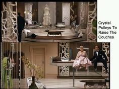 One of the last interior designs in Auntie Mame