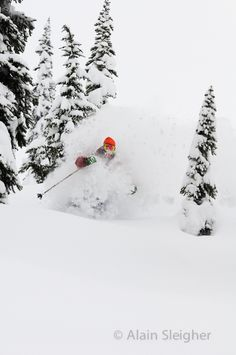 Mark Abma in Chatter Creek BC