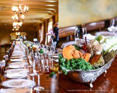 Vegetable table decor at KAMERS 2014 at the Castle Media Lunch - www.kamersvol.com - by Chantall Marshall Photography - www.chantallmarshall.wordpress.com