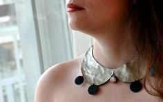 leather collar by NataliesWunderland on Etsy, $24.00