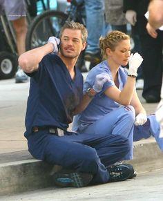 <3 Grey's Anatomy - Mark and Lexie