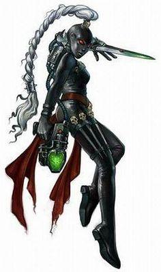40k - Callidus Assassin