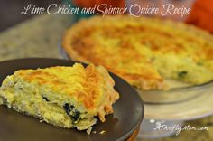 Chicken Lime Quiche