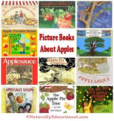 Kids Picture Books About Apples