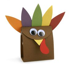 Turkey Treat Box By Amy Robison From The Silhouette Design Store