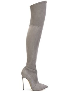Shop Casadei over-the-knee Blade boots.