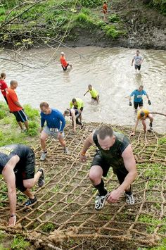 One Month Training Guide for a Mud Run