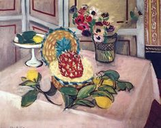 Henri Matisse (1869-1954) - Still Life with Pineapple, Lemons