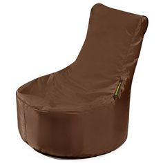 #Kindersitzsack von Pushbag - Small Seat: Braun