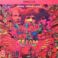 Cream-rare-vintage-psychedelic-stereo-lp-vinyl-record-album-cover-art by retrorebirth, via Flickr