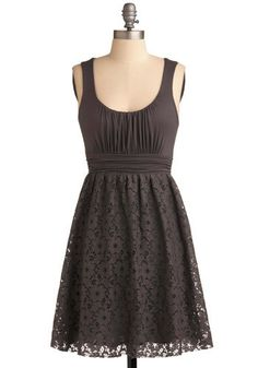 Crisp Cola Dress by ModCloth $47.99