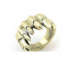 dentes anel de design