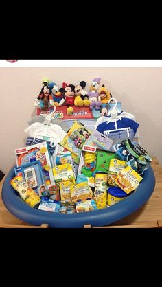 The not so traditional easter basket easter pinterest my son first easter basket used a baby pool negle Gallery
