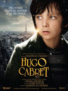 """Hugo Cabret"" Directed by Martin Scorsese. With Asa Butterfield, Chloë Grace Moretz, Christopher Lee, Ben Kingsley. Martin Scorsese, Hd Movies, Movies And Tv Shows, Movie Tv, Indie Movies, Action Movies, Movies 2014, Cult Movies, Movie Theater"