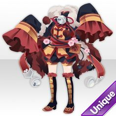 Drawing Anime Clothes, Dress Drawing, Clothing Sketches, Anime Dress, Cocoppa Play, Game Character Design, Cute Chibi, Character Outfits, Anime Outfits