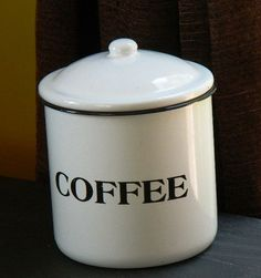 Loft Coffee Canister Coffee Canister Pinterest