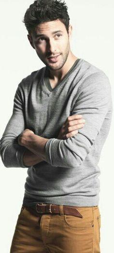grey and khaki