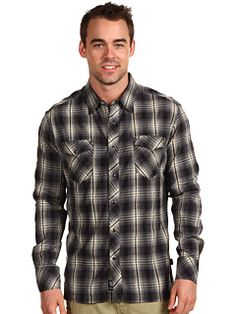 A classic flanel will keep you cozy on the mountain. Kuhl Sheridan #6amto6pm