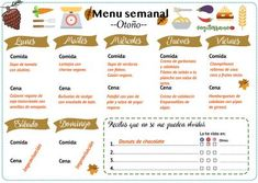 Menú semanal. Recetas veganas y vegetarianas. Vegiterraneo Vegan Menu, Meal Planning, Veggies, Food, Fitness, Healthy Vegetarian Meals, Vegan Recipes, Vegetarian Food, Healthy Menu