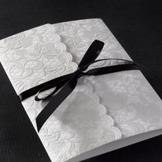victorian inspired paper lace wedding invitation by christopher