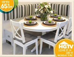 Love it? Buy it! Explore exclusive collections inspired by our favorite HGTV shows, like Love It or List It. Being short on square-footage poses lots of challenges for a growing family. We're always in search of ways to add storage without sacrificing style. The key? Choosing pieces that do double duty to maximize space. Shop looks inspired by the show and watch Love It or List It Mondays at 9pm/8c on HGTV.