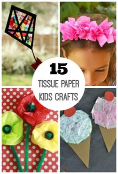 You may think only of gift bags and presents when you think of tissue paper, but these 15 tissue paper crafts for kids will have you thinking again! Just look at all the neat things you can  make with tissue... Continue Reading →