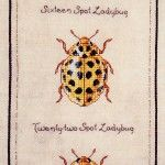 Dimples Designs  Part 8 Yellow Ladybugs