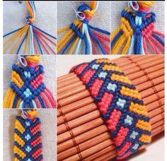 Diy Bresilien Bracelet #tipit #tumblr #Fashion #Trusper #Tip