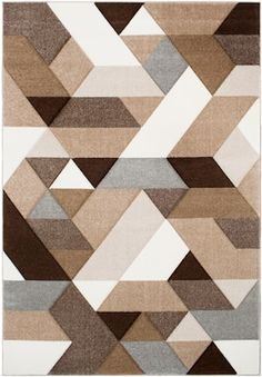 Surya Santa Monica Dark Brown x Area Rug Rug Studio, Textured Carpet, Geometric Rug, Modern Area Rugs, Carpet Design, Carpet Runner, Santa Monica, Rugs On Carpet, Stair Carpet