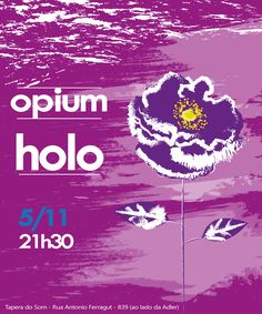 Festa Opium - novembro 2016 - Holo