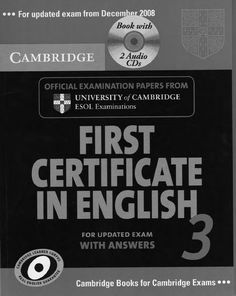 Cambridge first certificate in english 3 by Erwin Blanco - issuu