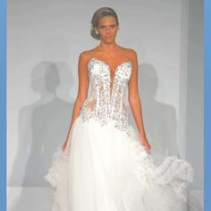 Transparent Wedding Dress  #Pnina Tornai