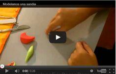 Creazioni pasta di mais: l'anguria