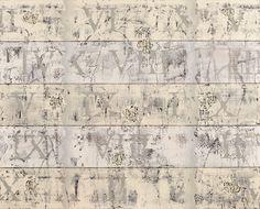 """Byzantion, 2015, Nezih Çavuşoğlu """"Melancholic Waves"""", Oil on canvas"""